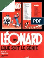 Leonard 39 Loué soit le génie