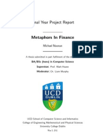 Michael Noonan Metaphors in Finance 07513992