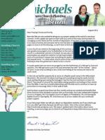 August 2011 Prayer Letter
