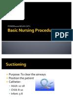 Basic Nursing Procedures