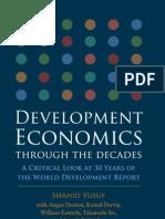 Development Economics Through the Decades, WB