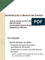 Introducao Banco de Dados