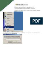 Criando Um Dominio e Active Directory