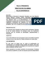TELECONFERENCIA DE TRIBUTARIA