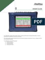 CMA3000 Ordering Guide Final V10