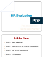 HR Evaluation