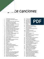 138 CANCIONES