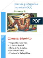 A Literatura Portuguesa No Sculo XX
