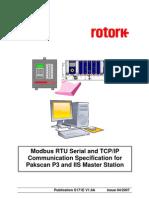 S171E P3 Modbus Protocol Manual V1 0A 04 2007