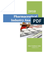 Pharma Sector Analysis