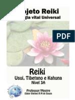 Projeto Reiki - Energia Vital Universal (Nível 3A)