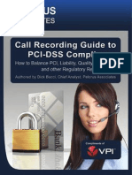 VPI - Call Recording Guide to PCI-DSS Compliance by Pelorus Associates