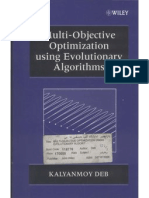 Multi Objective Optimization Using Evolutionary Algorithms By Kalyan Deb Ebook