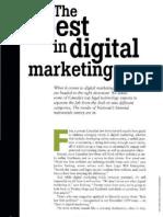 The Best in Digital Marketing