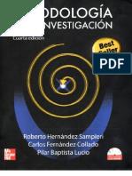 Metodología de la Investigación Hernández Sampieri Roberto 4a Ed