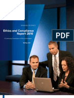 Ethics and Compliance Annual Report 2010