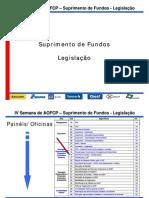 Suprimento Fundos Legislacao