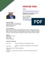 Econ. Rafael Correa Delgado, Ph.D.