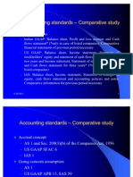 Accounting Standards - Comparative Study