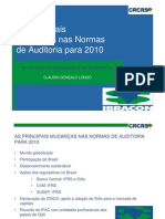 As Principais Mudancas Nas Normas de Auditoria Para 2010
