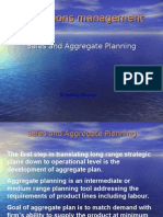 Aggregate Planning
