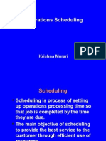 128opertaions Scheduling