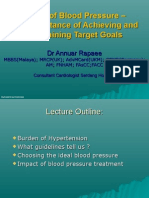 Impact of Blood Pressure - The Importance of Achieving and Maintaining Target Goals-2