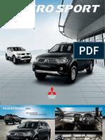 Brochure Pajero Sport