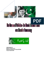 The Dream of Pakistan an Islamic State or a Secular Democracy