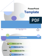 Project Power Point Template