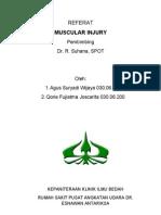 REFERAT Muscular Injury