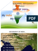 Physiographic Divisions of India Final