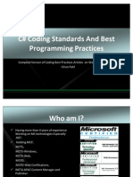 C# Coding Standards and Best Programming Practices