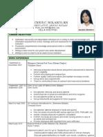 Fresh Resume