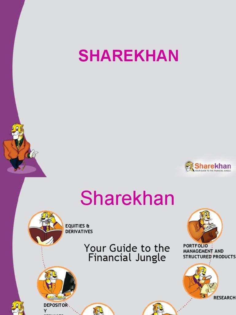 sharekhan presentation | financial economics | companies