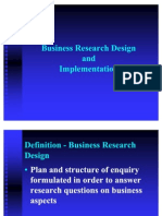 3 - Business Research Design