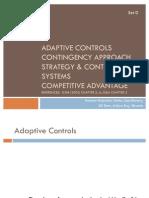 Adaptive Controls
