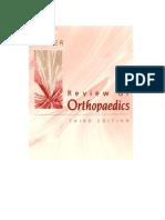 Miller's Review of Orthopedics - 3rd Ed