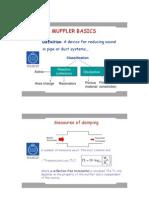 Muffler Basics