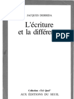 Jacques.derrida.L'Ecriture.et.La.difference