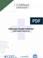 Hakiranje Google Trazilicom