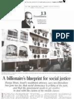 Shraga Biran - A billionaire's blueprint for social justice