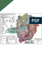 Mapa geológico de Minas gerais
