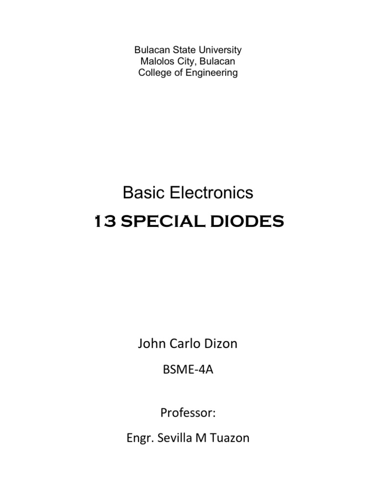 Dizon Diode Pn Junction Note All Diodes Used In Circuit Are In4007 The Transistor Is