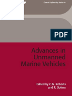 Advances in Unmanned Marine Vehicles