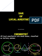 Local Anesthetics Sar