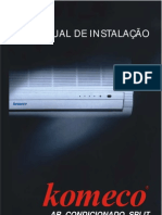 Manual instalação ar condicionado