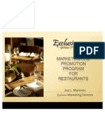 Restaurants Marketing Program