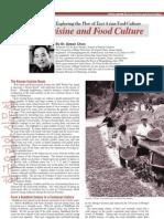 Korean Cuisine and Food Culture