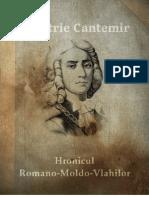 Hronicul Romano-Moldo-Vlahilor - Dimitrie Cantemir